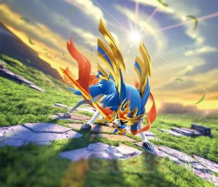 Pokémon TCG Epée Bouclier Zacian artwork 16 08 2019