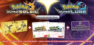 Pokémon Ultra Soleil Ultra Lune Ultra Dual Edition 12 07 2017