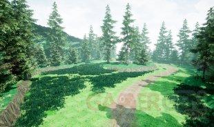 Pokémon Version Diamant et Perle Route 201 Unreal Engine (4) 08 01 2021