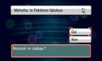 Pokémon X Y Rubis Oméga Saphir Alpha distribution Meloetta screenshot 01 01 12 2016