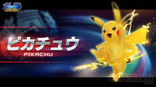 Pokke?n Tournament pikachu