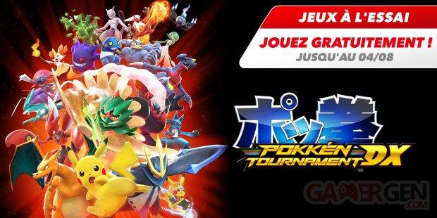 Pokkén Tournament DX essai gratuit 29 07 2020