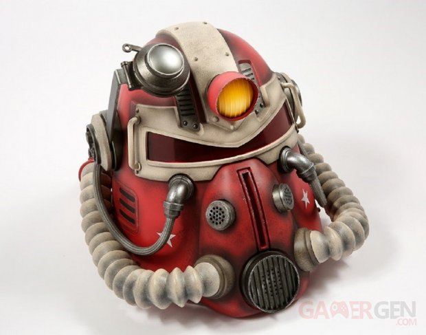 Power Armor Collectible Helmets Fallout 76 Casque