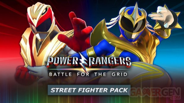Power Rangers Battle for the Grid Street Fighter Pack 01 13 04 2021