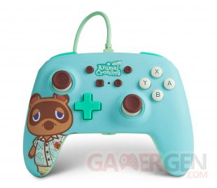 PowerA manette Animal Crossing Tom Nook 1