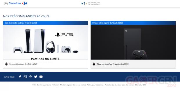 Precommande Xbox One et PS5