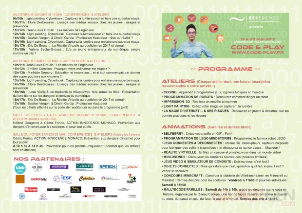 Programme code and play 2017