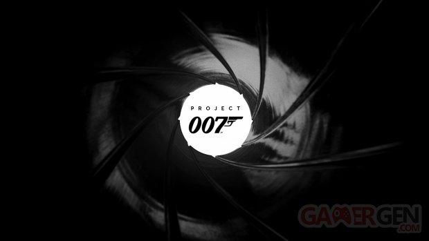 Project 007 logo head banner IO Interactive background key art