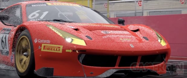 Project CARS 2 head Ferrari