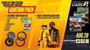 Project CARS 3 pack Ignition 03 08 2020