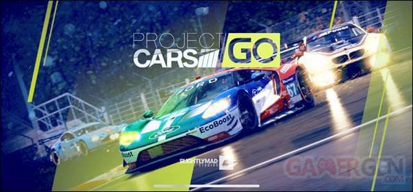 Project CARS GO logo