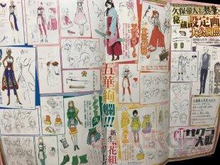 Project Sakura Wars scan Jump 19 04 2019