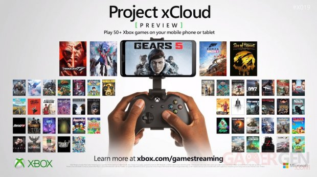 Project xCloud Preview liste