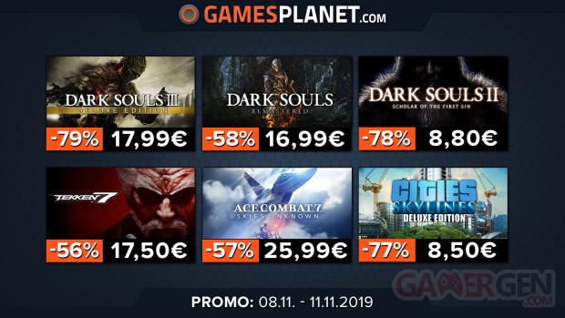 Promos sur Dark Souls Tekken 7 gamesplanet