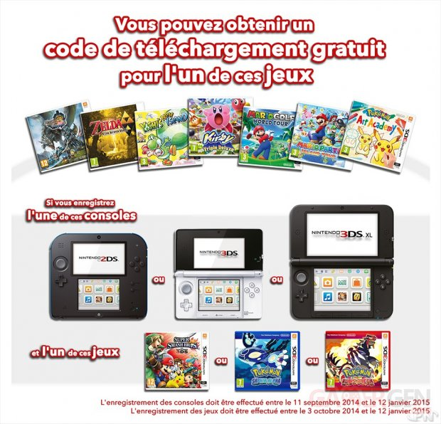 Promotion Hiver Nintendo