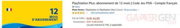 PS PlayStation Plus abonnement image