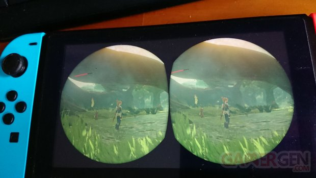 PS VR Switch The Legend Of Zelda Breath of the Wild utilisation tuto explication images (2)