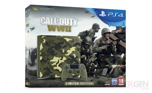 PS4 1To Edition Limitée Call of Duty WWII  (4)