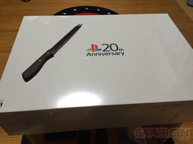 PS4 20th Anniversary Edition PlayStation deballage unboxing gamergen 12.01.2015  (2)