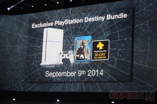 PS4 Bundle Destiny blanche