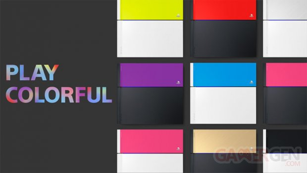 PS4 Color Variation Play Colorful banner