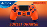 ps4 dualshock 4 edition speciale venir sunset orange