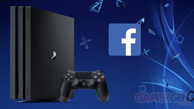 PS4 Facebook