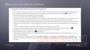 PS4 FW MAJ update 5.50 changelog