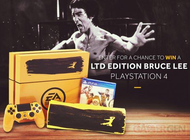 PS4 Jaune Bruce Lee EA UFC Sport