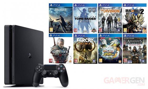 PS4 lot jeux amazon images