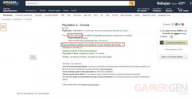 PS4 Neo Amazon