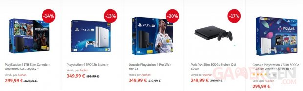 PS4 Pack Auchan image