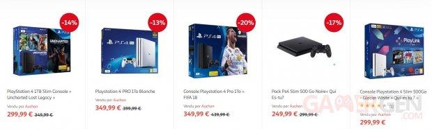 pack ps4 noel 2018 auchan BON PLAN   PS4 :  50 € sur tous les packs chez Auchan, et de bons  pack ps4 noel 2018 auchan