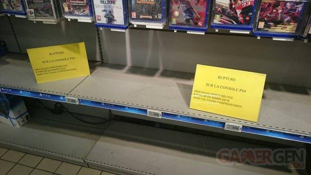 PS4 pe?nurie