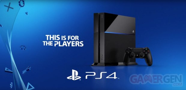 PS4 playstation 4 console vignette