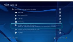 PS4 PlayStation tuto notification amis tutoreils images (3)