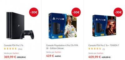 pack ps4 noel 2018 auchan BON PLAN   PS4 Pro : moins 30 € sur un pack chez Auchan   GAMERGEN.COM pack ps4 noel 2018 auchan