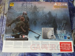 PS4 Pro Leviathan Grey collector God of War unboxing déballage 02 19 04 2018
