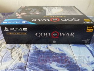 PS4 Pro Leviathan Grey collector God of War unboxing déballage 03 19 04 2018