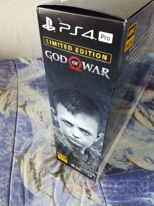 PS4 Pro Leviathan Grey collector God of War unboxing déballage 06 19 04 2018