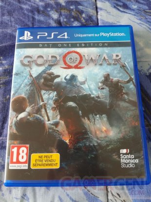 PS4 Pro Leviathan Grey collector God of War unboxing déballage 16 19 04 2018