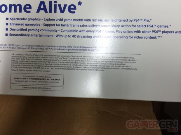 ps4 pro packaging boîte 05