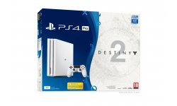 PS4 Pro PlayStation 4 Pro bundle Glacier White destiny 2