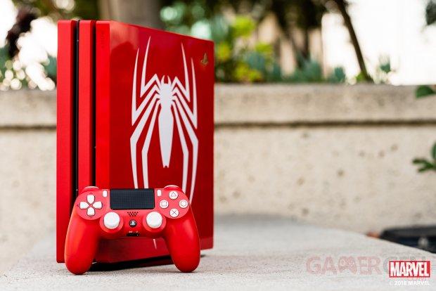 PS4 Pro Spider Man images deballage photos  (2)