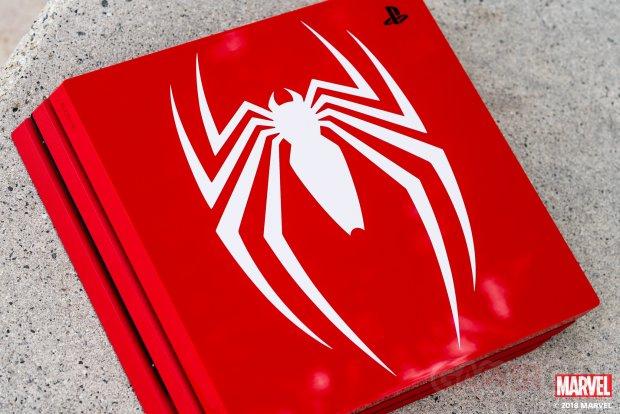 PS4 Pro Spider Man images deballage photos  (6)