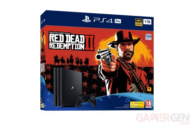 PS4 Red Dead Redemption 2 bundle pack Pro