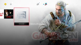 PS4 Theme The Witcher image capture (1)