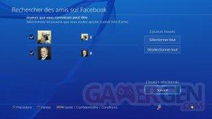 PS4 tuto Facebook rechercher ami contact (1)