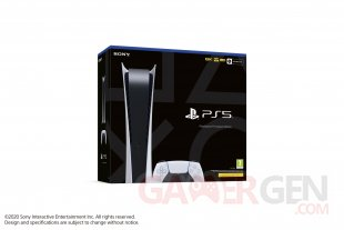 PS5 Digital Edition boite packaging images (3)