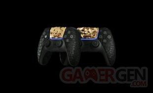 PS5 Or Caviar Manette Crocodile